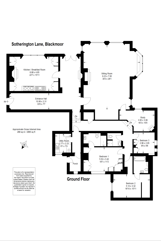 6 Blackmoor House floor plan