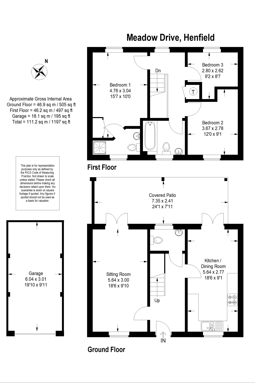 Floor Plan - 23 Meadow Drive, Henfield